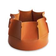 Muscari Baskets in orange