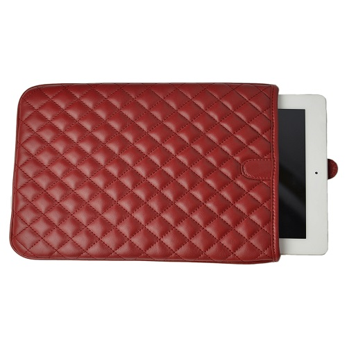 Quilted Leather iPad Case