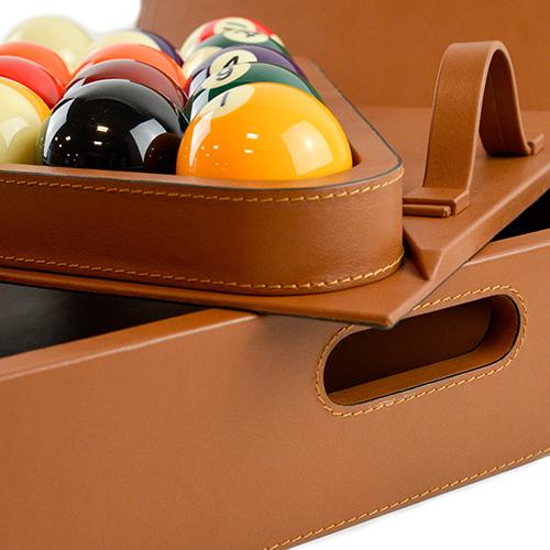 Brown Billiard Case
