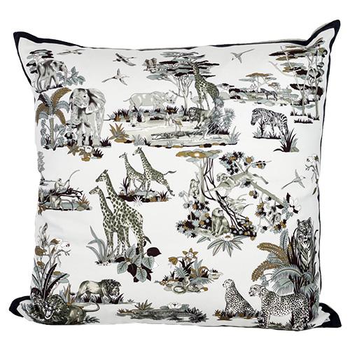 Safari Print Cushion