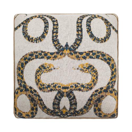Serpents Cashmere Pillow