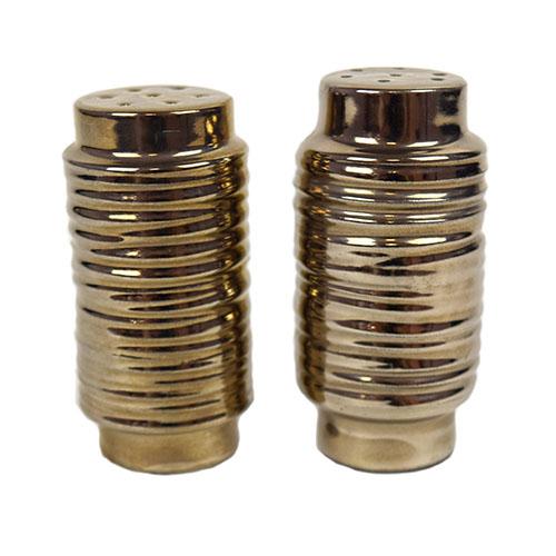 Platinum Rings Salt and Pepper Shaker