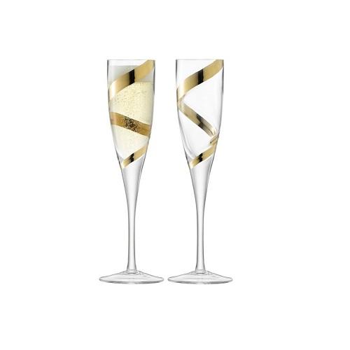 Malika Set of 2 Grand Champagne Flute