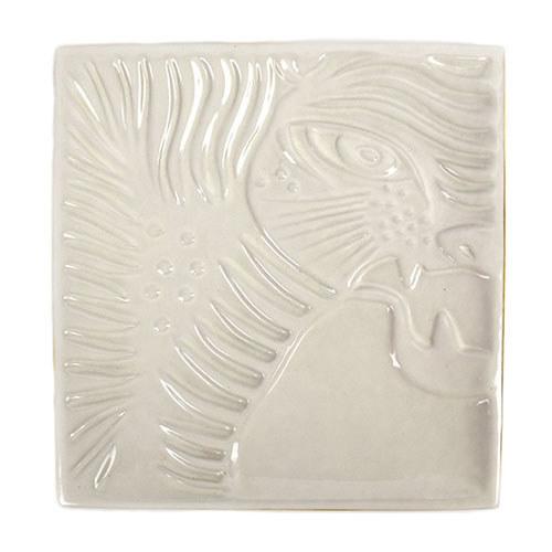Etched Tiger Face Tray