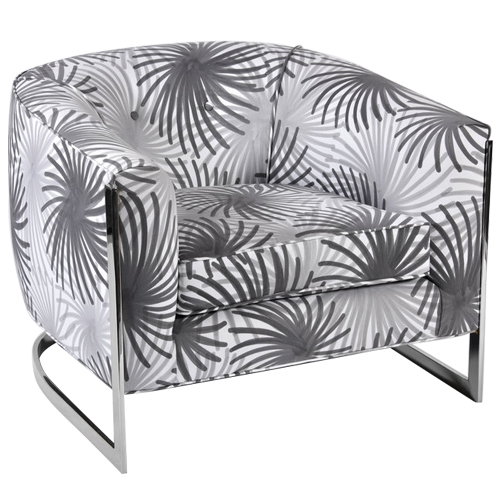 Fuochi Fabric Armchair
