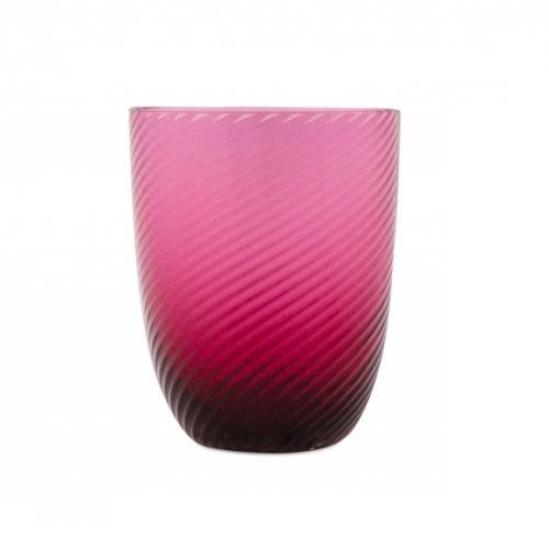 Idra Ritorto Glass Ruby