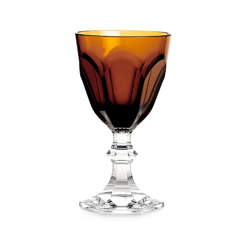 Dolce Vita Wine Glass Amber