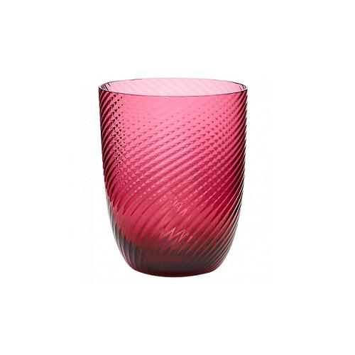 Idra Ritorto Glass Red