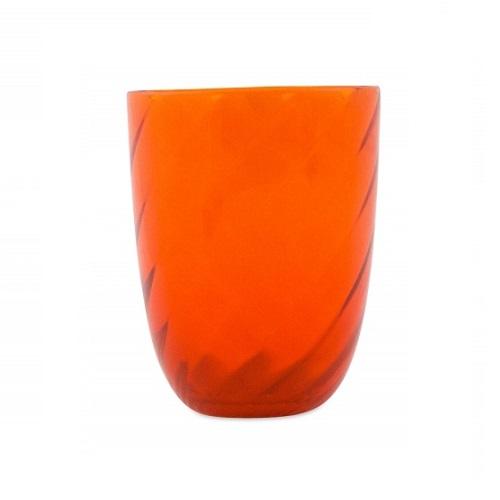 Idra Torse Glass Orange