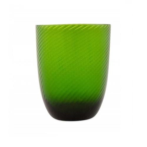 Idra Ritorto Glass Green