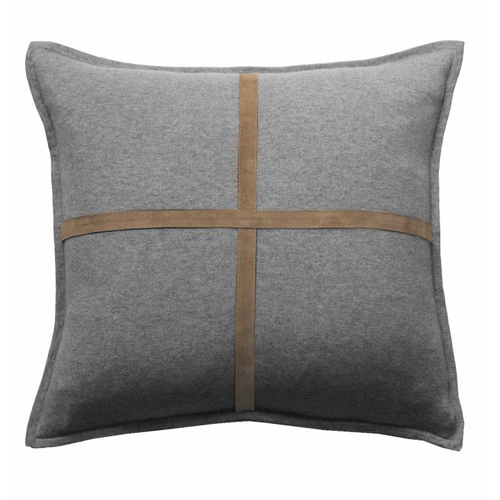 Palermo Cashmere Cushion Gray