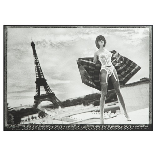 Stephanie Seymour Paris 1982 Framed Print