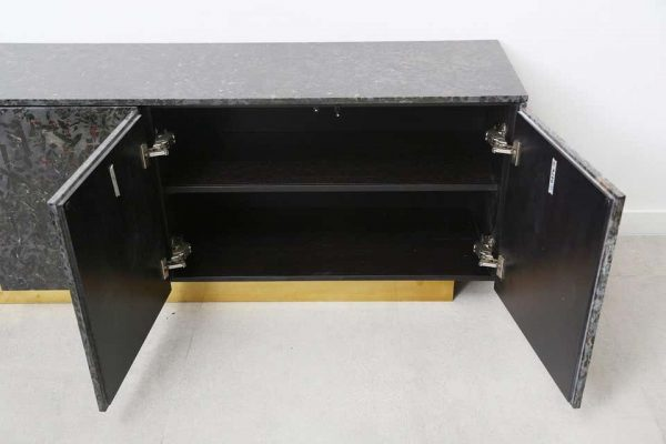 Meteurus 4-Door Console by The Marble House, Handmade in Italy