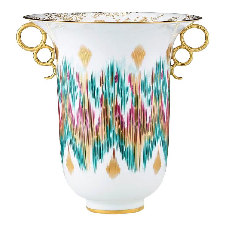 Voyage En Ikat Vase
