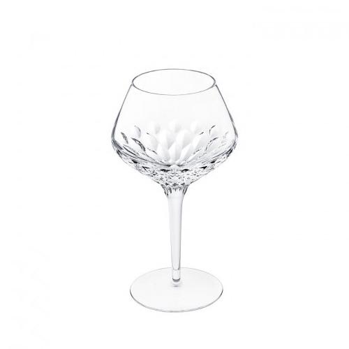 Crystal wine glass
