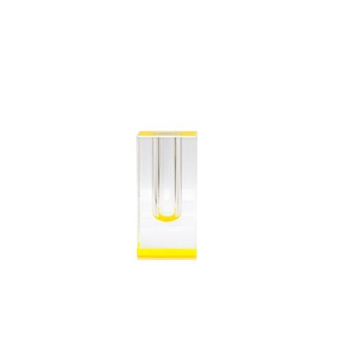 Bloomin' Short Vase in Yellow