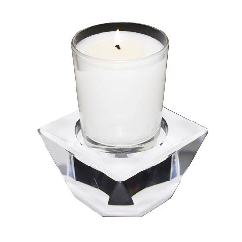 White Candle Pedestal