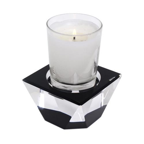 Candle Pedestal Black