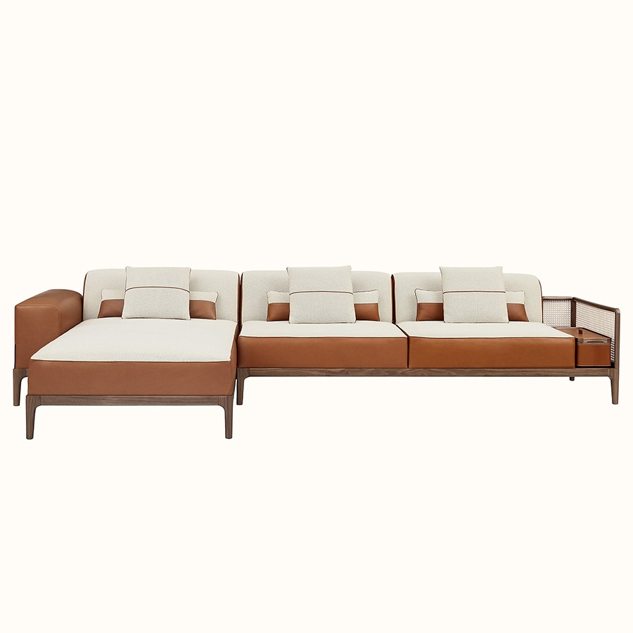 Best Sectional Sofas_0006_6 Sofa Sellier 2-seater with chaise lounge