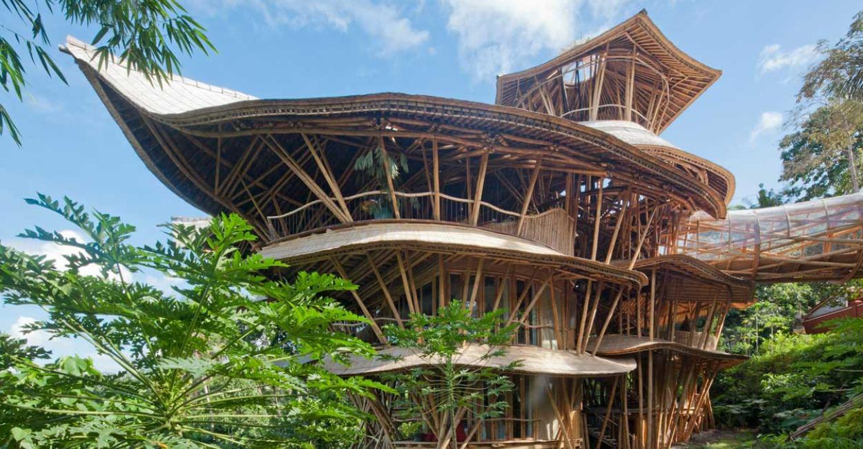 Brown Color Palette_2 Architecture_Ibuku Bamboo Village in Bali