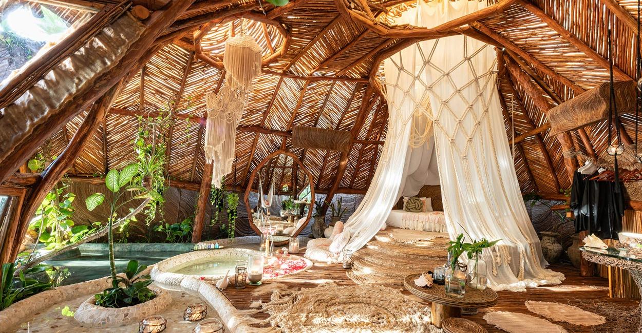 Brown Color Palette_4 Commercial Spaces_Azulik Eco Resort Tulum_1
