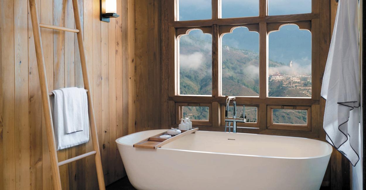 Brown Color Palette_7 Commercial Spaces_Six Senses Hotel Bhutan_2