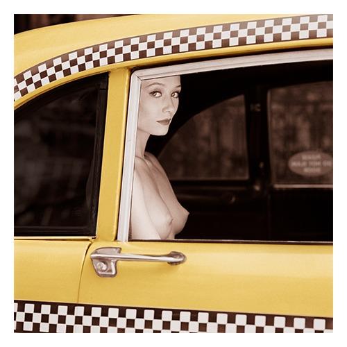Checker Cab, New York, 1990, Patrick Lichfield