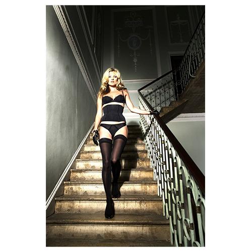 Kate Moss Descending Halftone, 2007, Mike Figgis