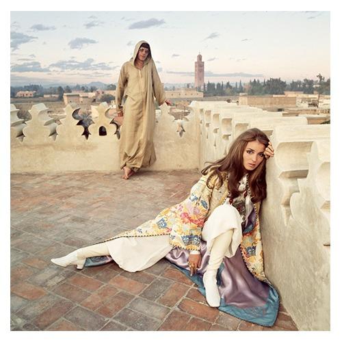 Paul and Talitha Getty, Marrakesh, Morocco, 1969, Patrick Lichfield