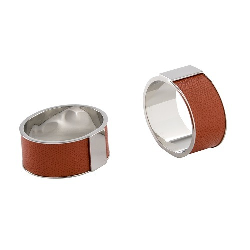 Lux Napkin Rings Red