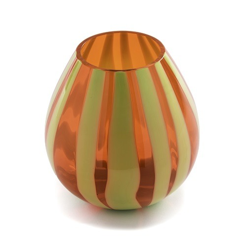 String Water Tumbler Pea Green and Orange