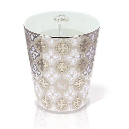 Platinum Tumbler and Fig Scented Candle