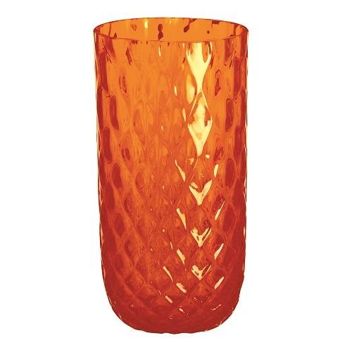 Polaris Drinking Glass Orange