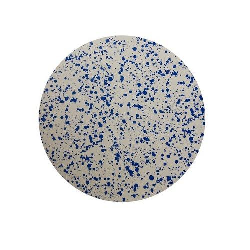 Set of 4 Blue Splatter Coasters