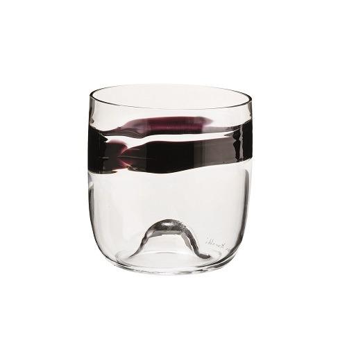 Crystal Rings Glass Purple