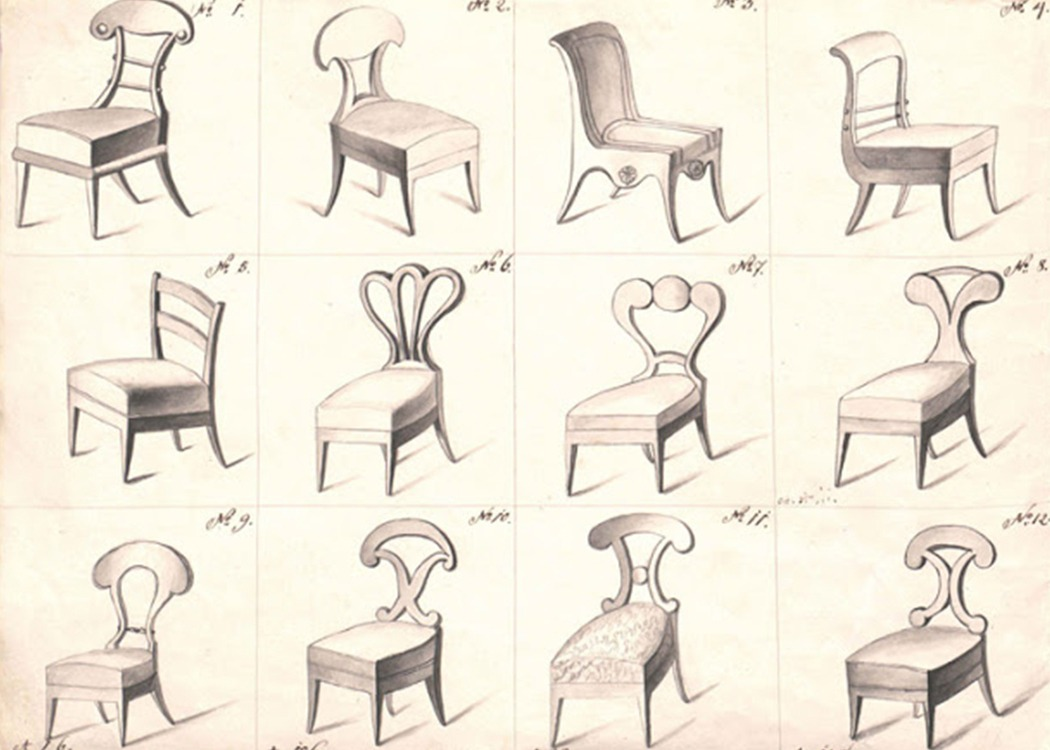 Biedermeier Design Market chair 2