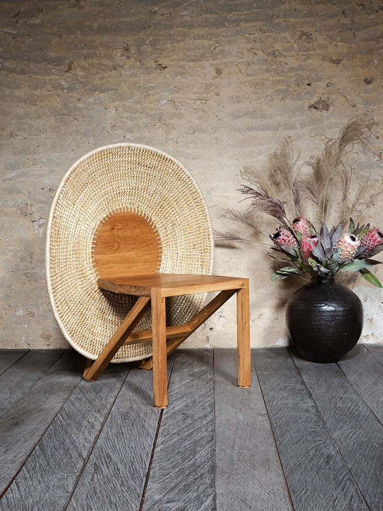 Albertine Chair - for more info, visit https://anthony-guerree.com