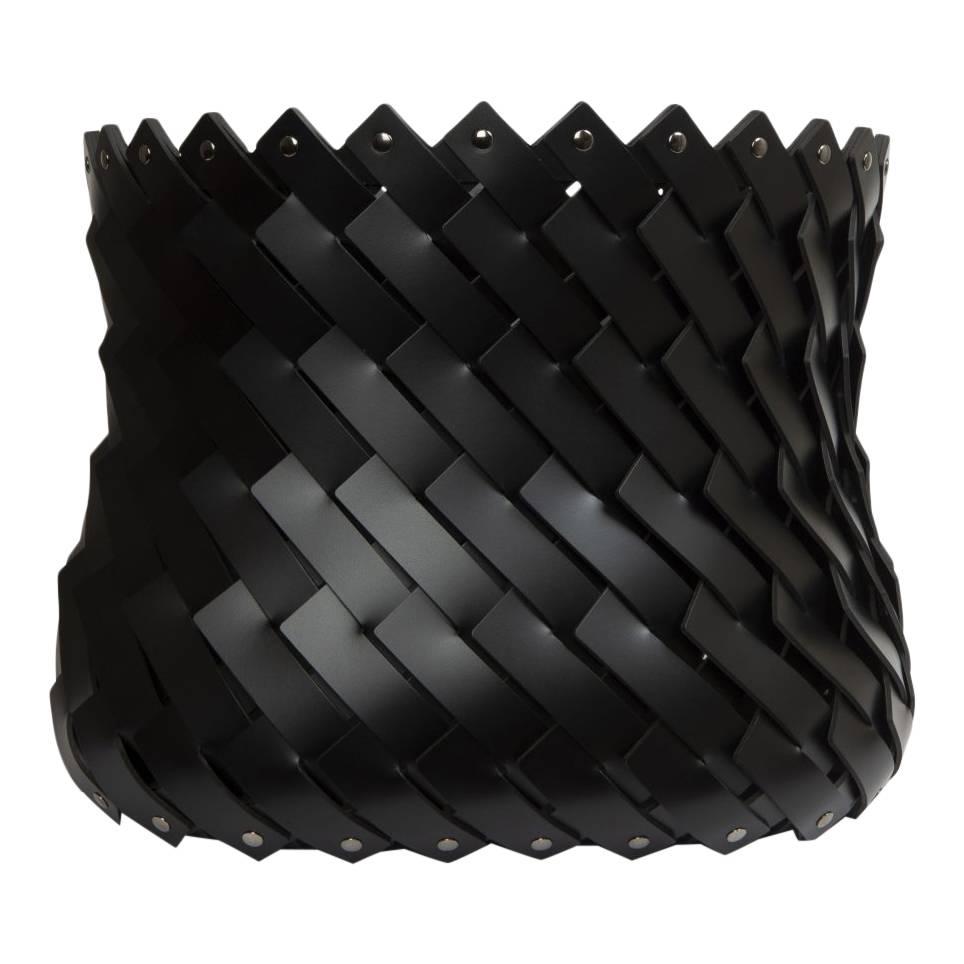 Almeria Square Basket Black