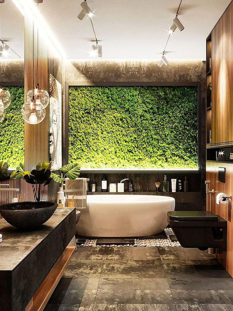 Moss Wall_Photo courtesy of @torontoparadiseplants 1