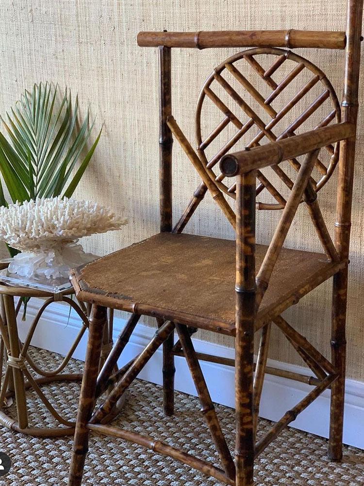 Bamboo Furniture_2 Photo courtesy of @palmbeachhomestyle