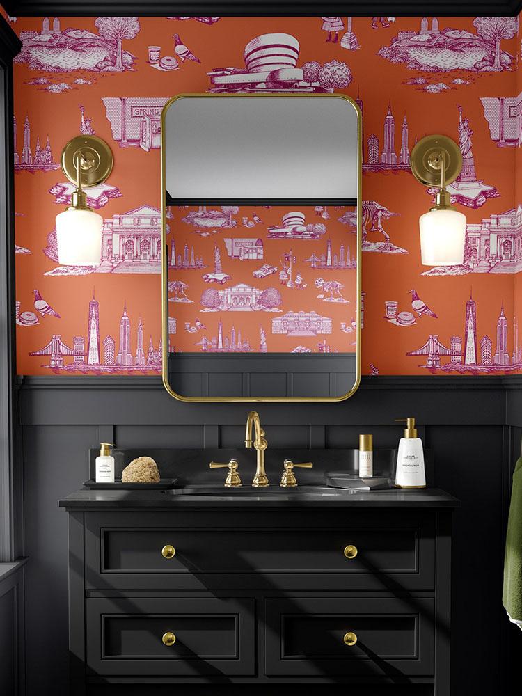 Bathroom Walls_1 Vinyl Wallpaper
