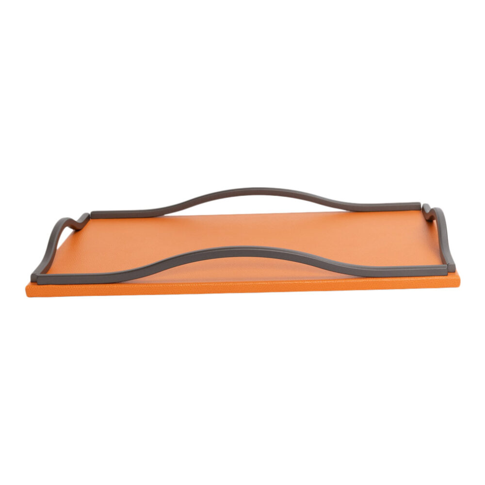 WAVE TRAY WITH BURNISHED HANDLES LIVERPOOL