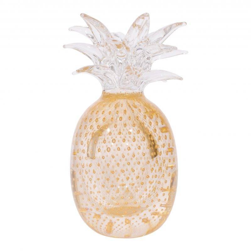 Ananas Grande Oro Sculpture